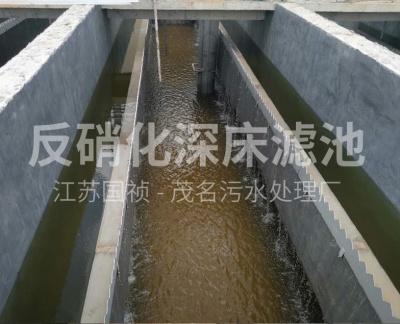 反硝化深床滤池T型滤砖(茂名市河西污水处理厂)