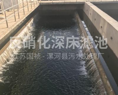 反硝化深床滤池T型滤砖  (漯河市污水处理厂)