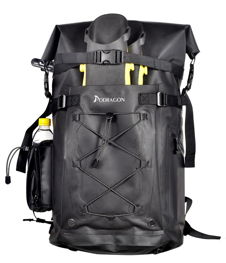 Podragon潜水脚蹼包为什么这样设计?潜水装备收纳包有什么特点优点?