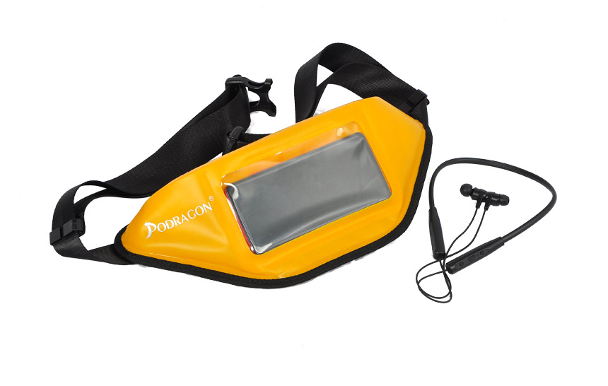 How does the airtight and waterproof waist bag work? What ar...