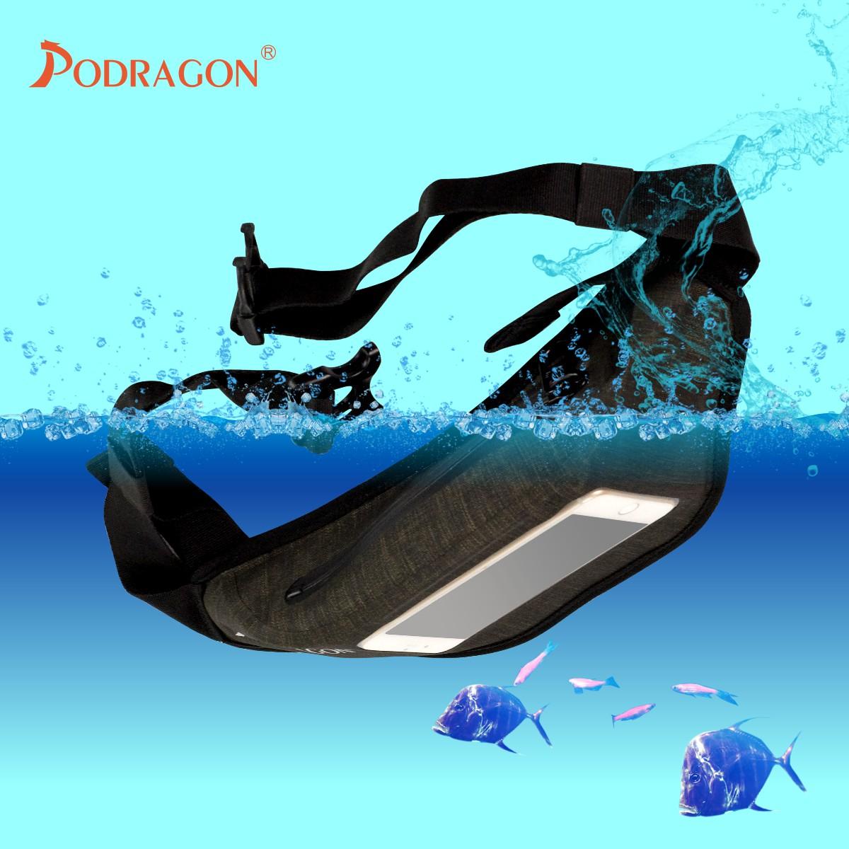 Podragon浮潜腰包气密潜水套加厚钱包手机防水袋漂流溯溪游泳促销