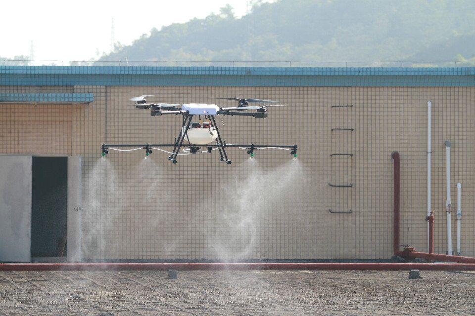 JMR-X1380S Quad 10KG Agriculture uav drone