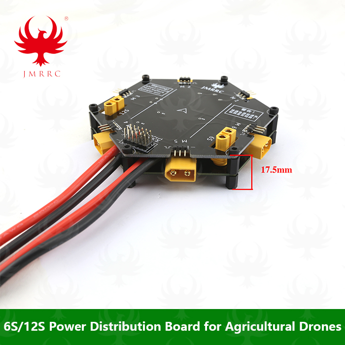 Power Distribution Board 6S-12S Big Current for Agricultural Drones