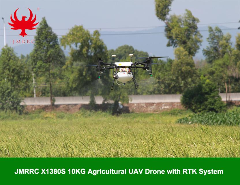 JMR-X1380S 10KG payload Agricultural UAV Drone with RTK system