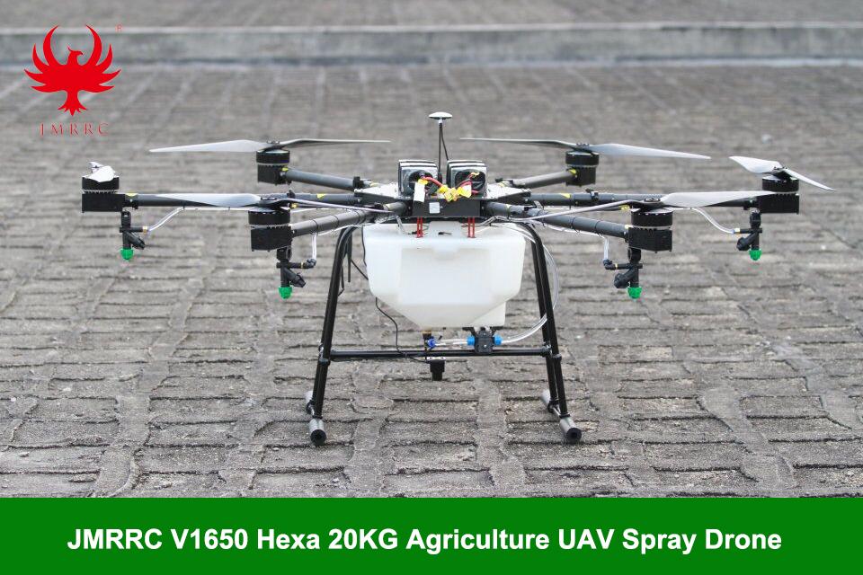 JMR-V1650 6-rotor 20KG payload Agricultural Drone