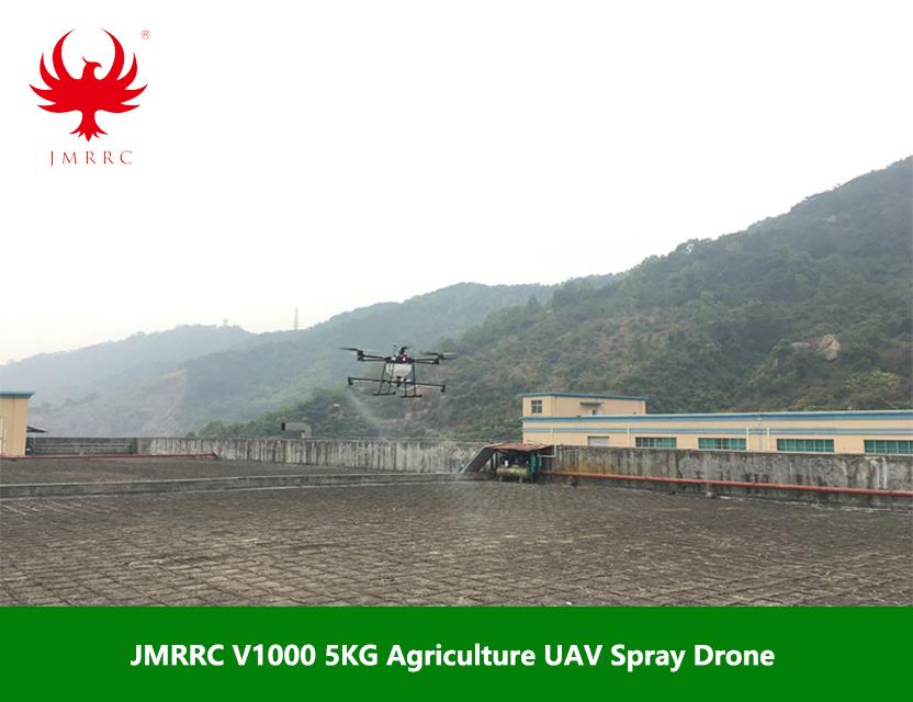 JMR-V1000 6-rotor 5L Payload Spraying Drone