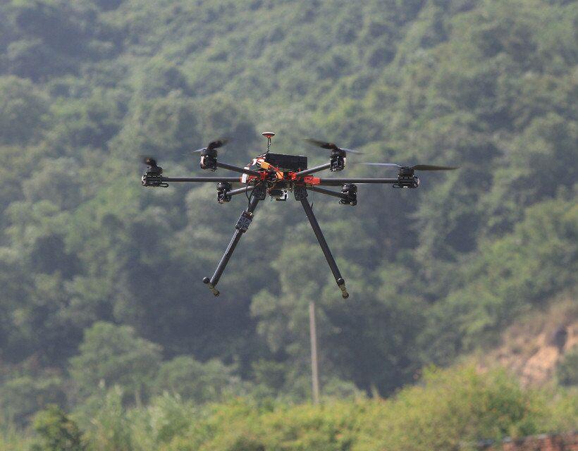 HF820mm Power Line Inspection Patrol UAV Drone