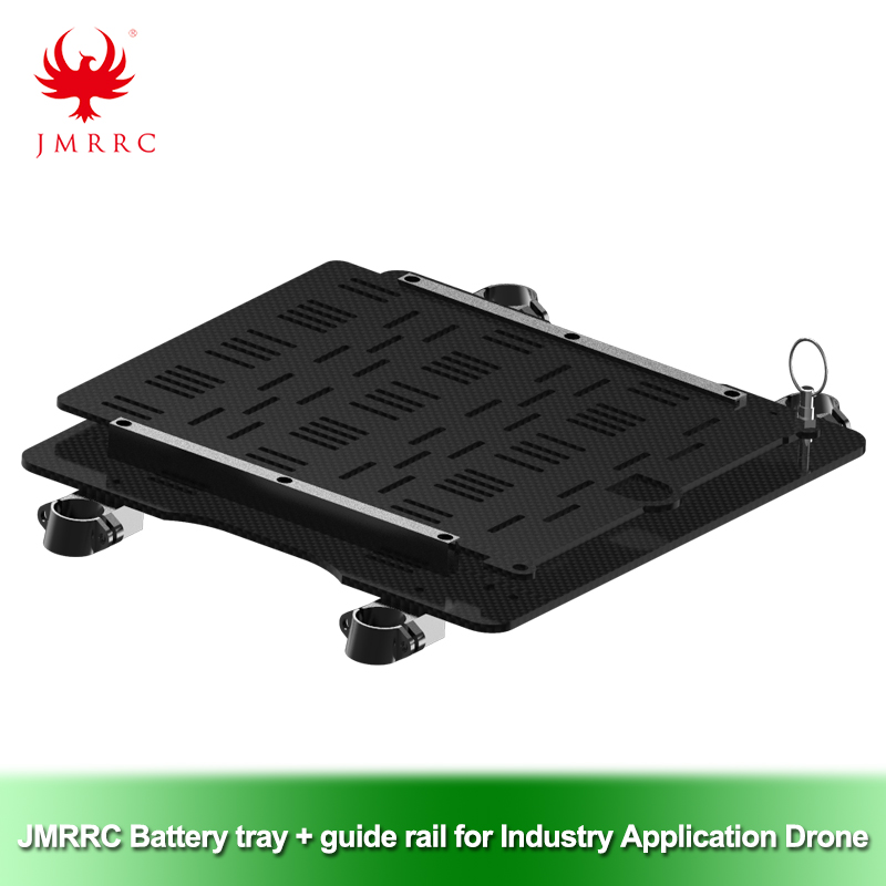 Industry Application Drone Battery Tray + Guide Rail