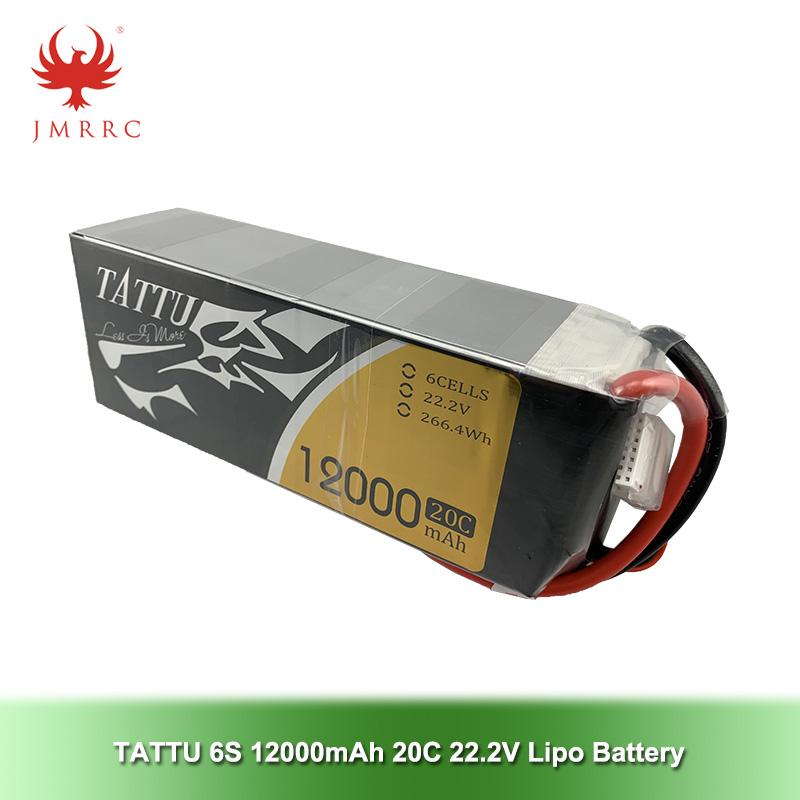 Tattu 12000mAh 22.2V 20C 6S1P UAV Lipo Battery Pack