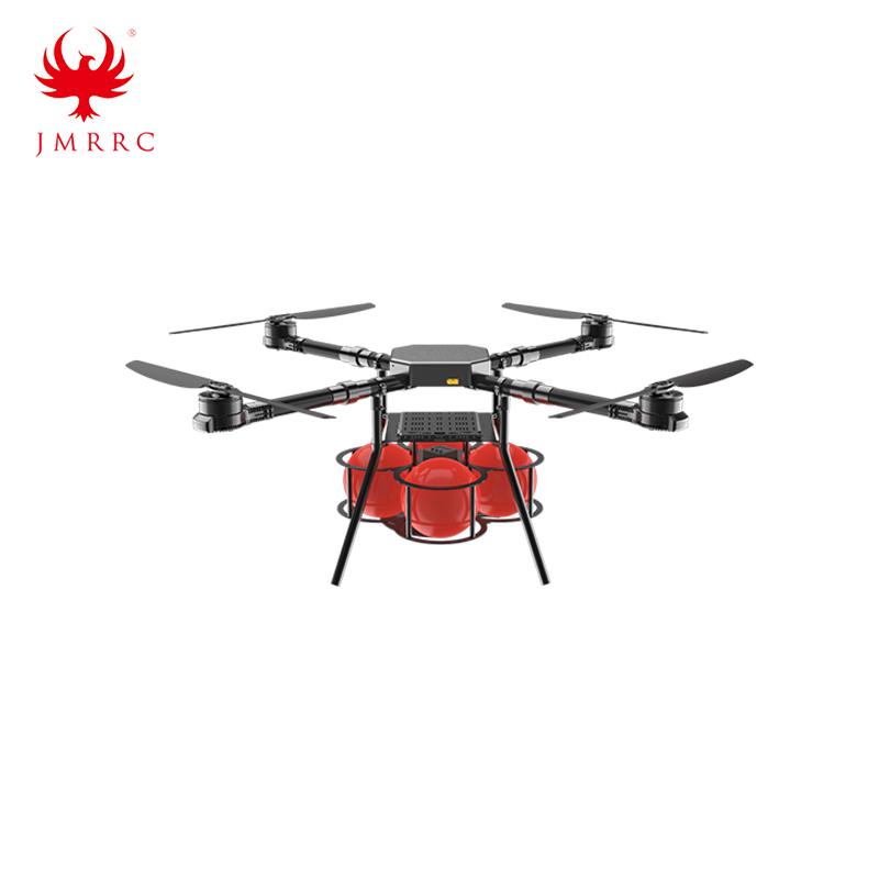 Fire Extinguisher Drone UAV Auto Fire-off Ball Drpper