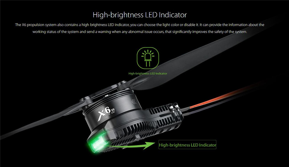 Hobbywing X6 Power System for Agricultural Drones
