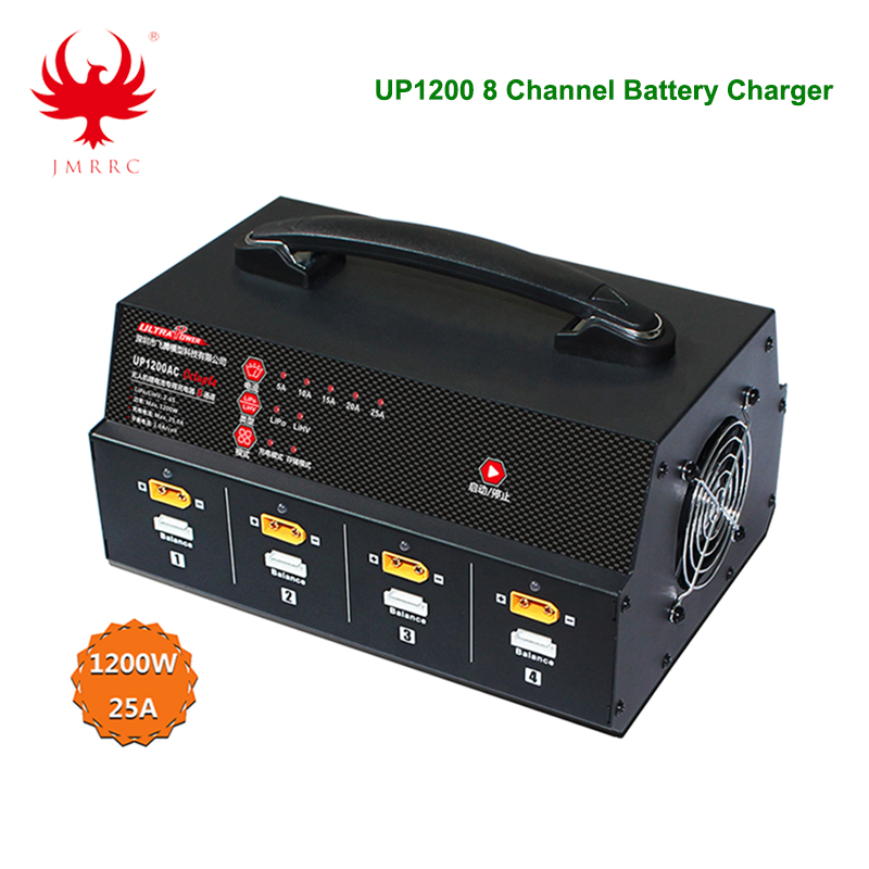 UP1200 Charger 8 Channel 6S Lipo battery Charger