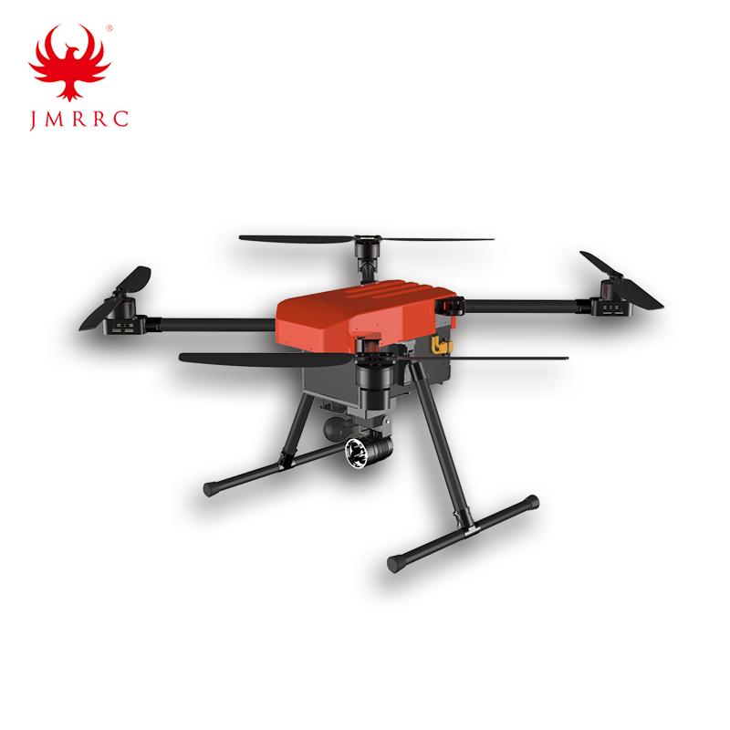 Quadcopter 900mm Patrol Drone Gift Deliver Life Rescue UAV X900 Searching Light Speaker Drone JMRRC