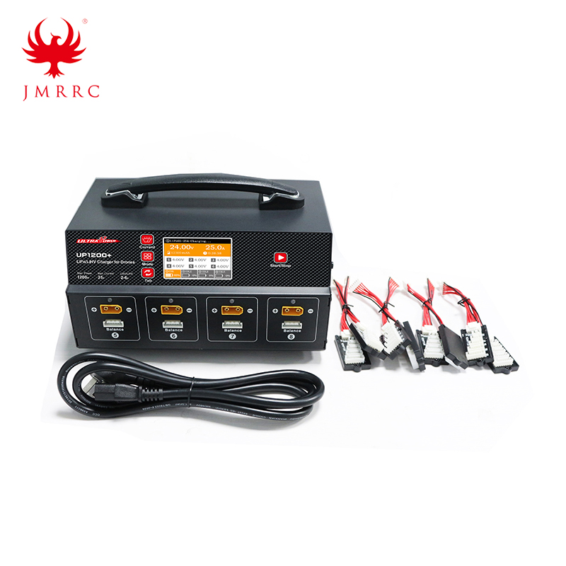 Ultra Power UP1200+ 25A 8 Channel 2-6S Lipo LiHV Battery Charger