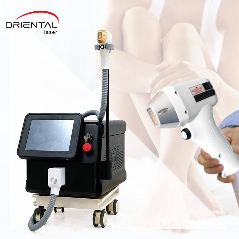 Portable diode laser hair removal --- Edelweiss