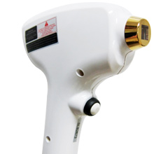 Classic diode laser hair removal handle