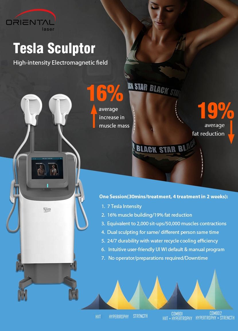 HIFEM Technology slimming solution --- Tesla sculptor