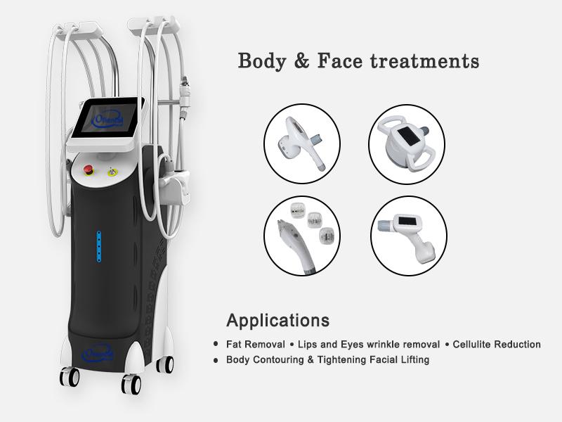 Rf cavitation vacuum roller massage laser slimming machine --- vela 800
