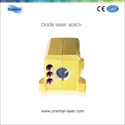 ARC packaging diode laser stack