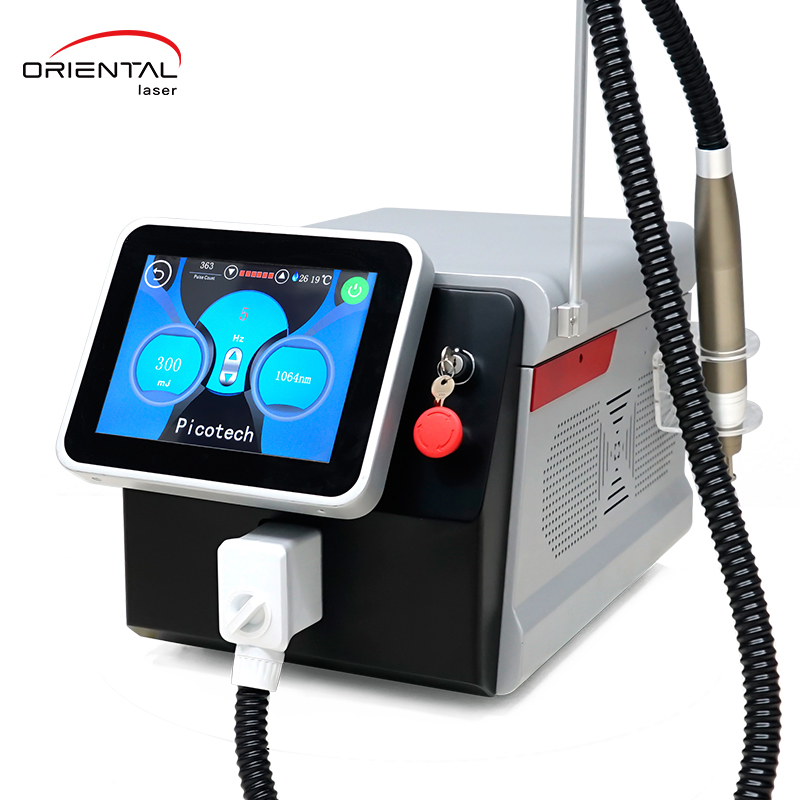 Picosecond level Nd Yag laser tattoo removal PicoSonic