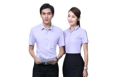 短款办公室文员职业衬衫