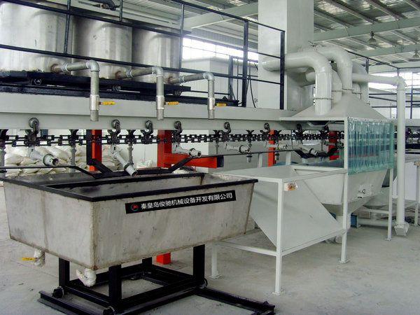 供应广东水玻璃自动制壳线