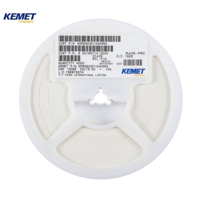 KEMET Chip capacitors