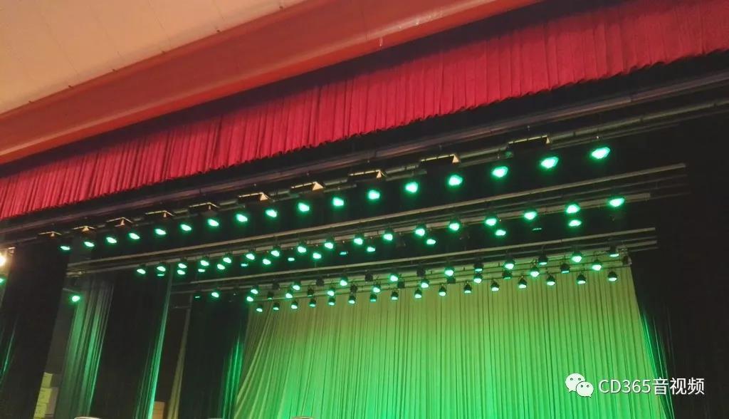 湖北某会展中心舞台灯光音箱-C...