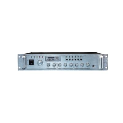 2U 标准型六分区合并式定压功放 PA-USB60W6P~700W6P