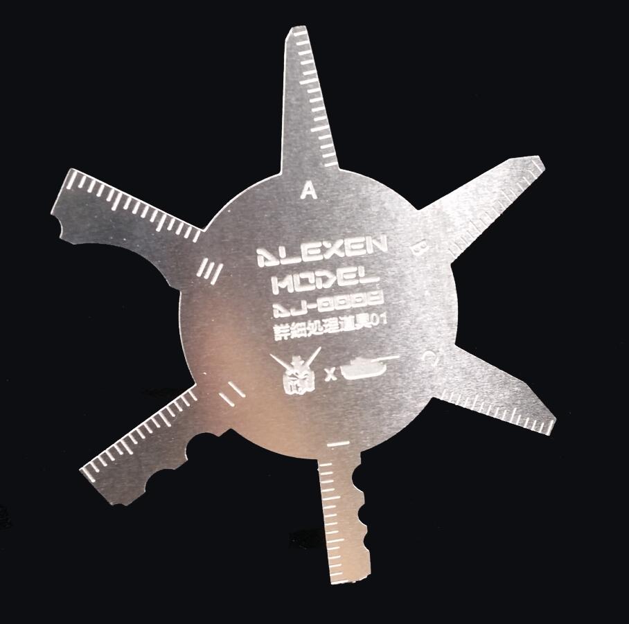 【艾烈臣品】高达/军模 卡啦位 细节合模线 刮板 模型工具
