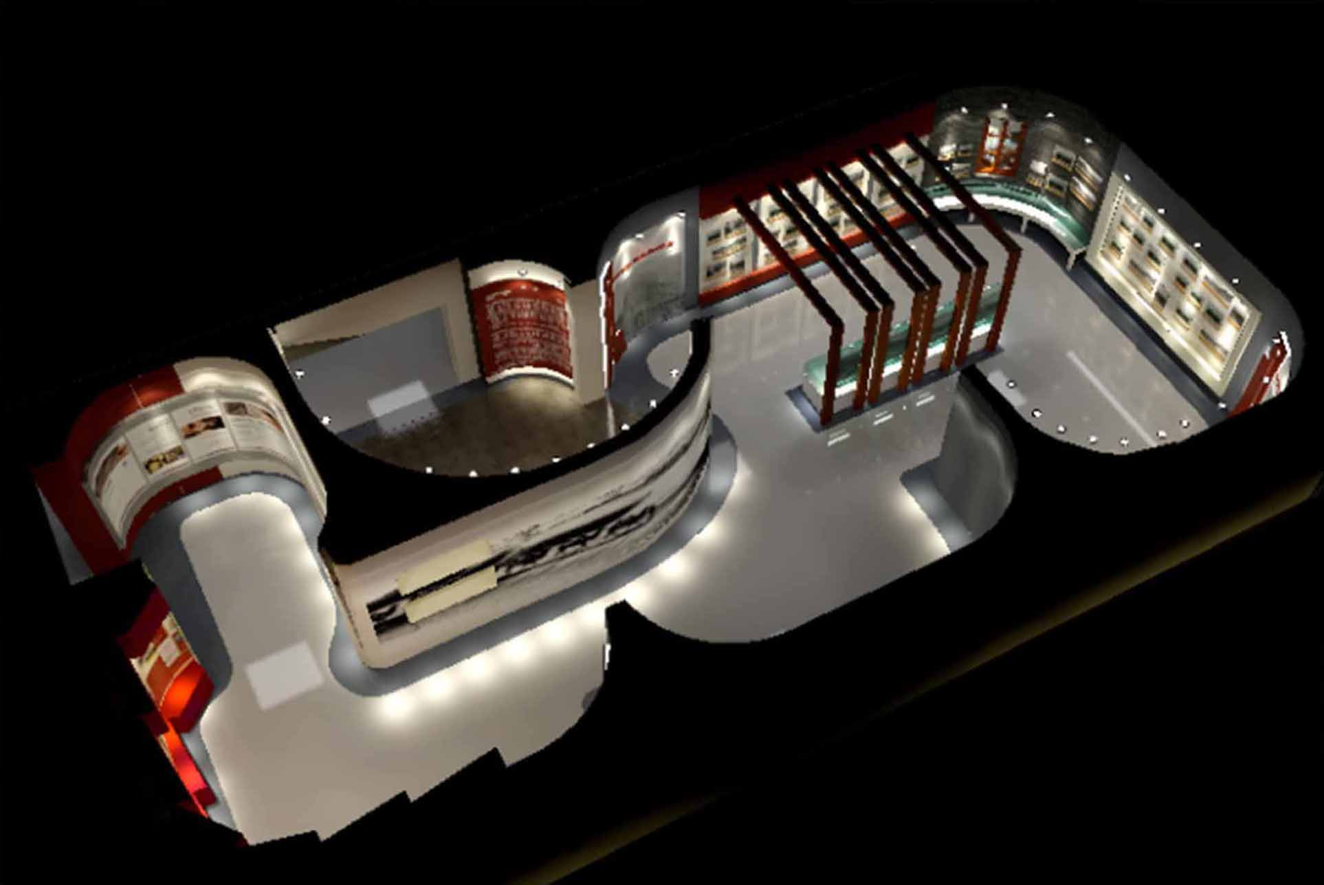 展示空間設計、展廳施工管理、展面內容制作