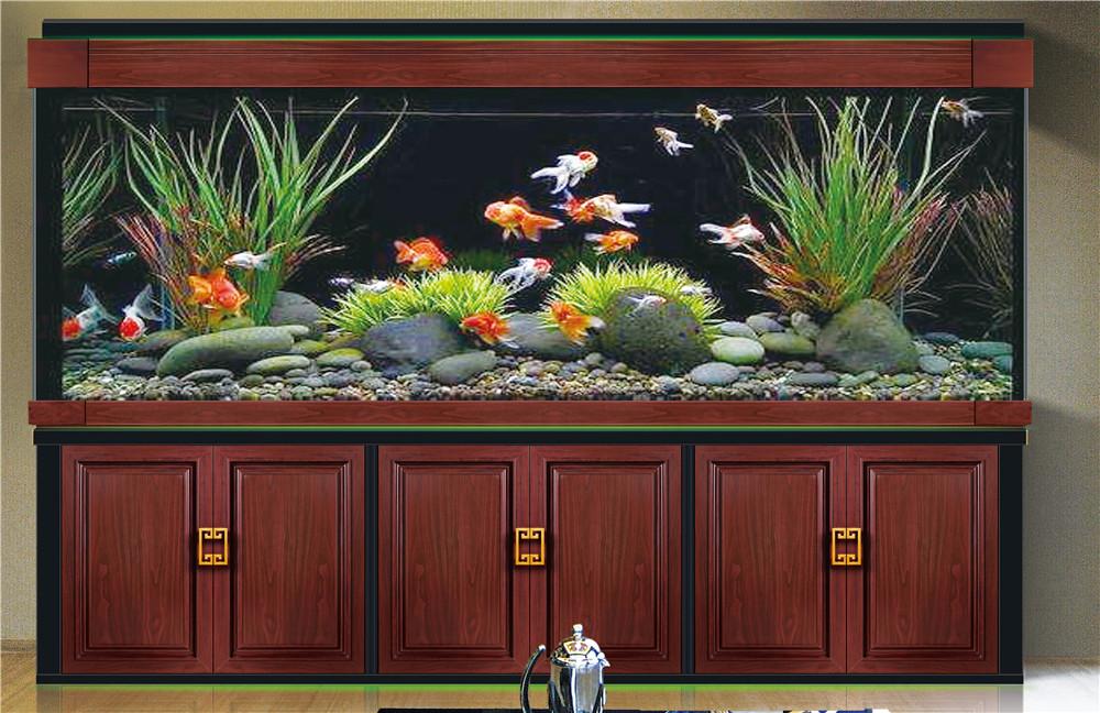 超亚钢木款鱼缸