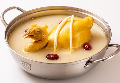 韓式人參雞湯底
