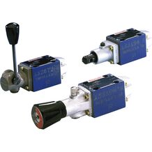rexroth 换向滑阀,直动式,带机械式或手动式操纵WMD 6