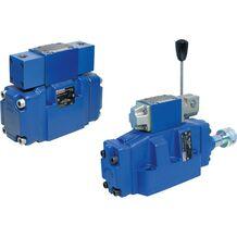 REXROTH 带机械-液压操作(滚轮柱塞,旋转 90°)的先导式方向滑阀H-.WMUH