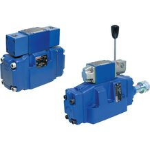 REXROTH 带机械-液压操作(旋钮)的先导式方向滑阀H-.WMDH