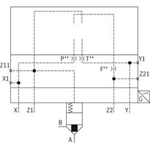 rexroth 带阀芯位置监控的二通插装阀LFA..EWMB(控制盖)