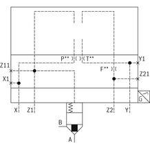 rexroth 带阀芯位置监控的二通插装阀LFA..EHWMA2(控制盖)