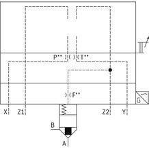 rexroth 带阀芯位置监控的二通插装阀LFA..EHWMB2(控制盖)
