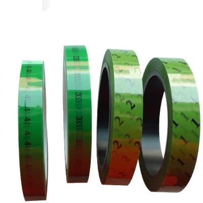 YS-022 Green Printed Tape