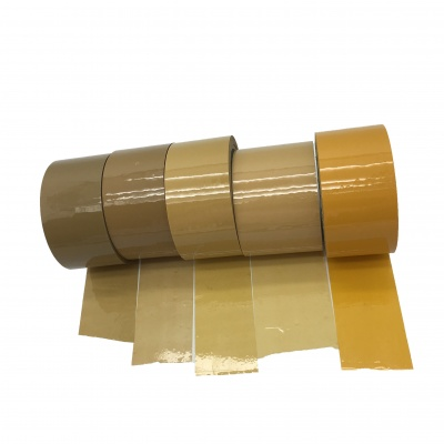 YS-009 Multicolor Brown Bopp Sealing Packing Tape