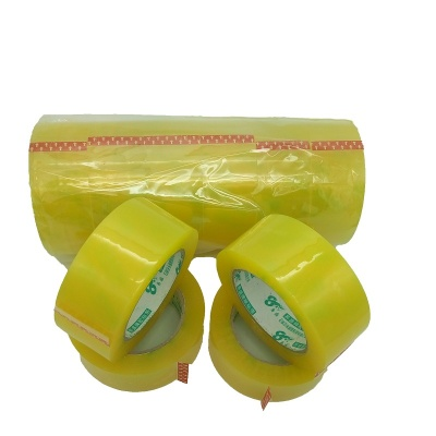 YS-001 Clear Yellow Bopp Sealing Packing Tape