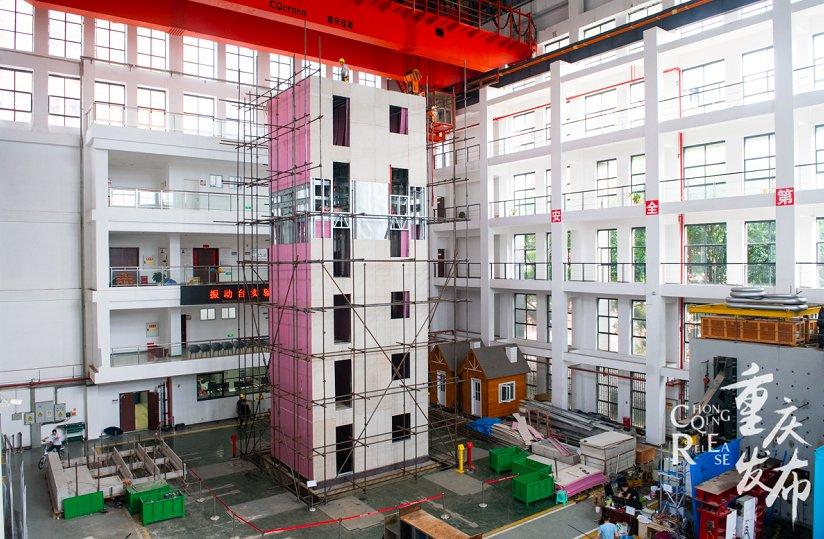 周绪红院士团队再创佳绩!我国首次6层冷弯薄壁型钢结构房屋振动试验成功完成,可抗8级地震!