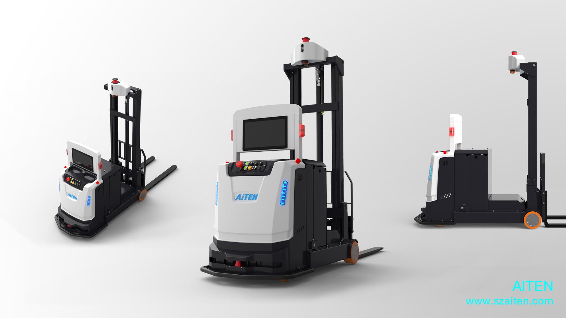 AGV机器人的成长过程