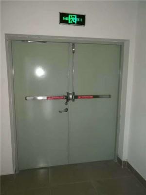 钢制防火门安装