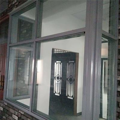 断桥铝合金防火窗安装