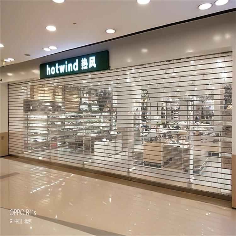 商场不锈钢水晶门