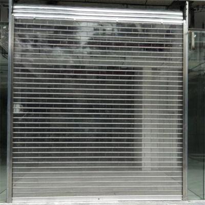 商场水晶卷帘门安装