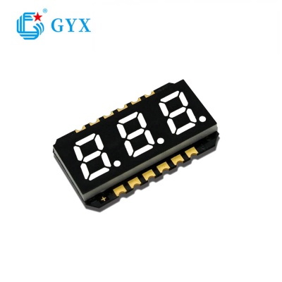 3 bit 8 white light 7 segment led digital display GYXS-888