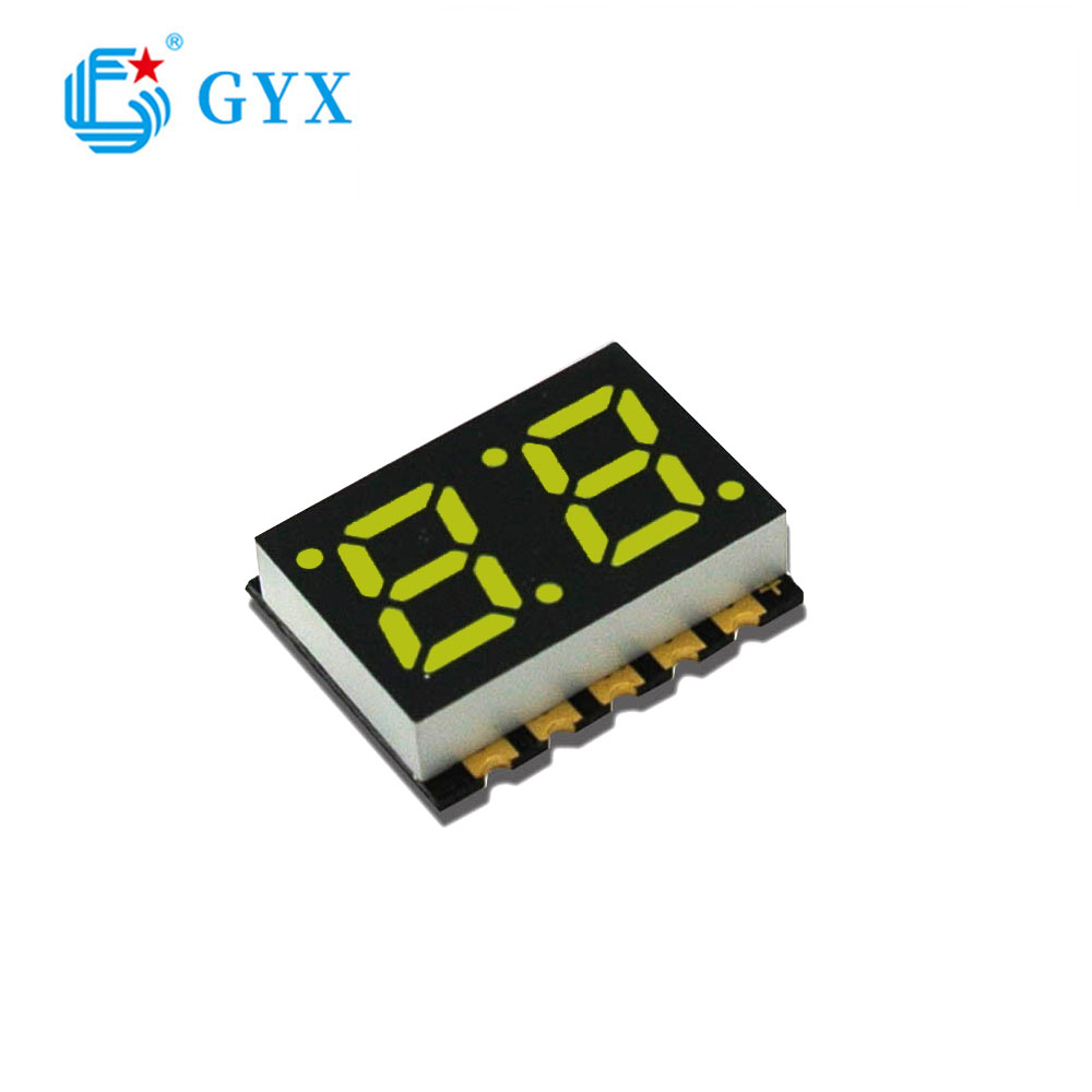 2 bit 8 white high light 7 segment led digital display GYXS-88 W